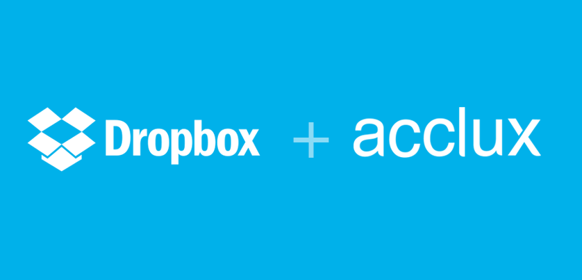 Why Dropbox fully integrated with Acclux accounting